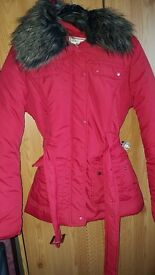 Red coat size 10 £5