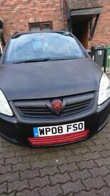 Vauxhall Zafira 2008 AUTOMATIC (Petrol) - AVAILABLE (will update if not)