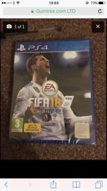 Brand new Fifa 18 still sealed!