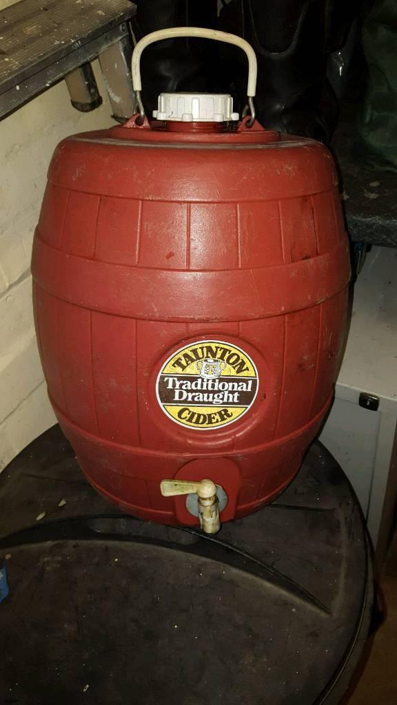 Taunton cider barrel
