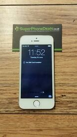 APPLE IPHONE 5S 16GB (SILVER/GOLD/SPACE GRAY) - UNLOCKED TO ALL NETWORKS