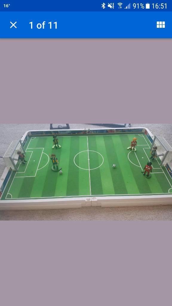 playmobile football large travel set