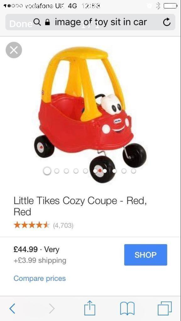 Toy sit in car