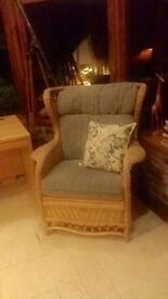 Wicker Chair Set -3 piece suite