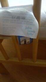 Baby Crib with mattress from John Lewis