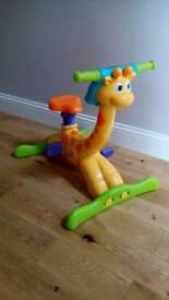 Vtech bounce and ride giraffe bike