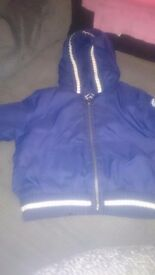 Age 2 timberland reversable coat