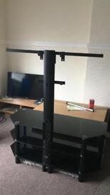 Slick Black (Bracket) TV Stand