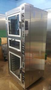 NU-VU ELECTRIC CONVECTION OVEN WITH PROOFER