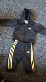 0-3 Adidas Tracksuit Baby Boy