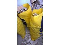 free bags of rubble