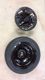 Brand new Kia Pacanto spare wheel and jacking kit