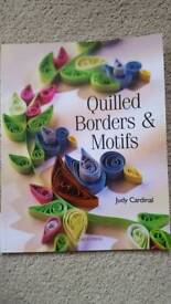 QUILLED BORDERS & MOTIFS BY JUDY CARDINAL - BRAND NEW