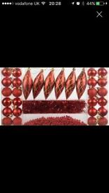32pc Christmas decorations