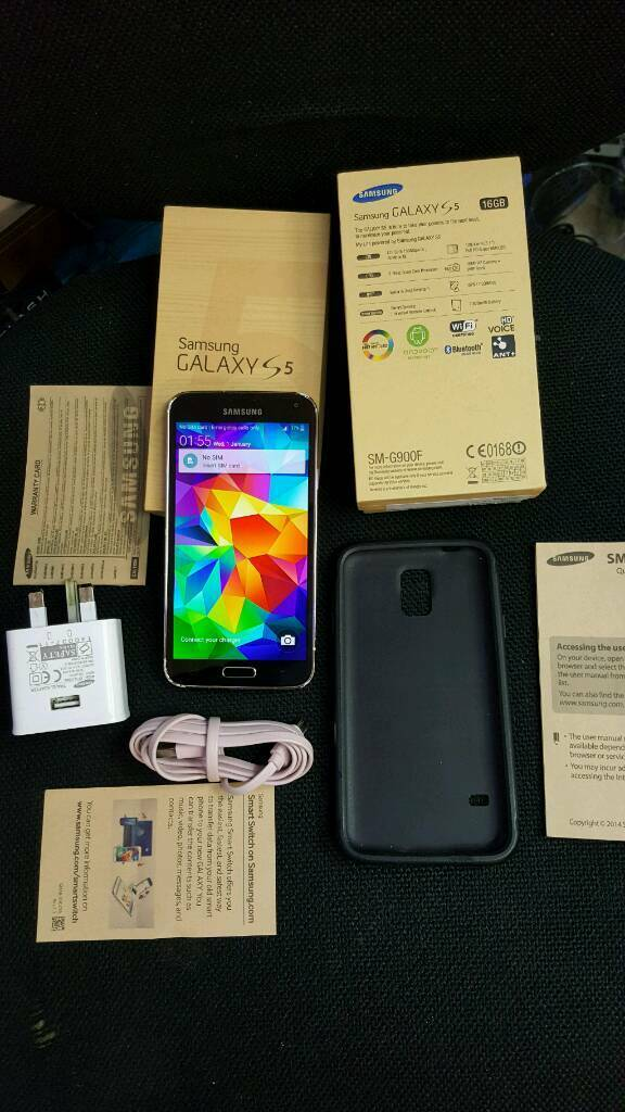 Samsung Galaxy S5 16gb Gold unlocked good use condition boxedin Bradford, West YorkshireGumtree - Samsung Galaxy S5 16gb big version in GOLD couler,Unlocked to anynetwork work with any sim cards,Greater working order with any faults and sides has some scratch screen excellent condition,No time waster please. Thanks