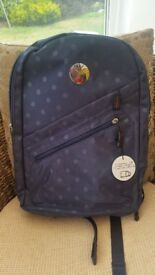 RUCKSACK OXFORD BLUE NEW WITH TAGS