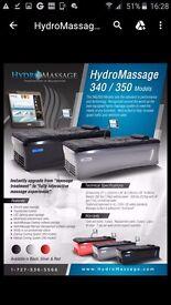 Medi Jet dry hydro massage bed