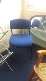 Free blue chair for office or use as spare