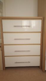 Wardrobe, Bedside Cabinets and Drawers