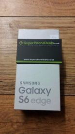 SAMSUNG GALAXY S6 EDGE 32GB (WHITE) - UNLOCKED - BRAND NEW