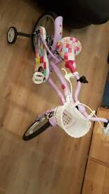 Apollo cherry lane 16inch girls bike