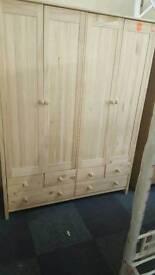 New Scandinavia 4door 6 draw wardrobe