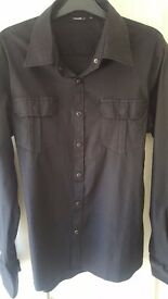 Mens shirt, RG 512,urban ware,black,chest pkts,XL,excellent cond;&buy.