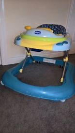 Baby walker, used condition but all still in working order