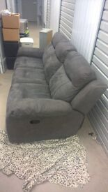sofa 3 seater recliner excellent condition