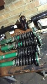 Tein Super Street coilovers Evo 4-6