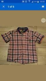 ted baker boy's shirt 4-5