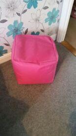 Pink Pouffe