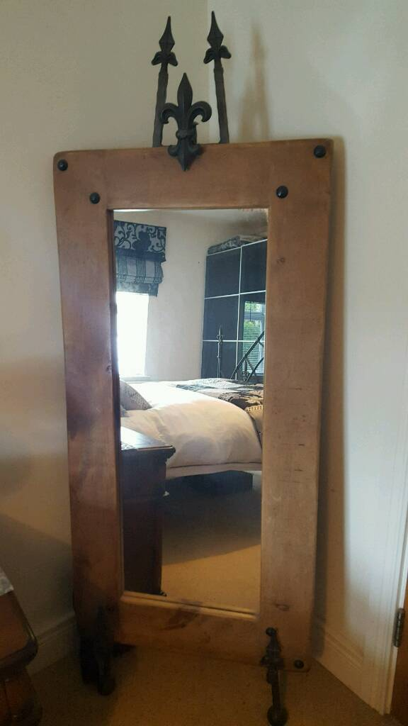 Free standing Mirror (sold pending collection)