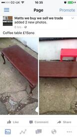 Long low coffee table only £15ono