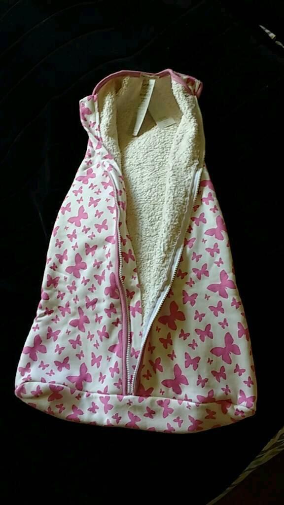 BNWT organic cotton designer sleep bag