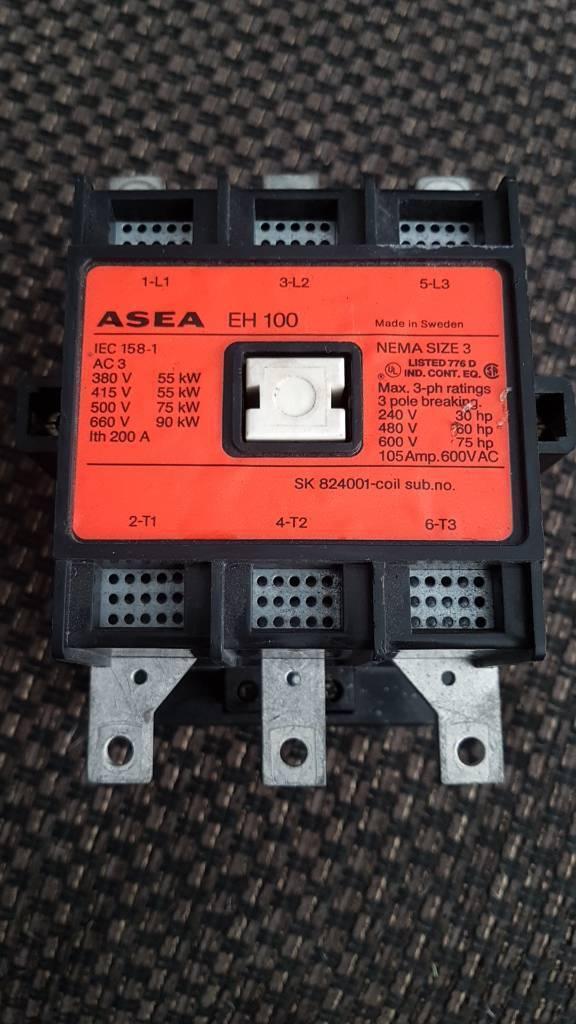 ASEA EH100 3 POLE CONTACTOR