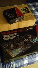 Professional pioneer dj setup