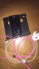 Iphone 4 with genuine charger