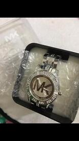 Mk silver ladies watch