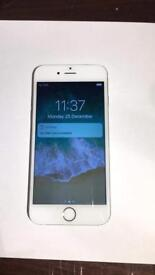 APPLE IPHONE 6 SILVER 16 GB GOOD COND UNLOCKED TO ANY SIM NETWORK SALE