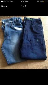 Boys jeans age 10 (4.00) for both pairs