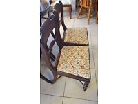 Beautiful Set Of 4 Antique Chairs