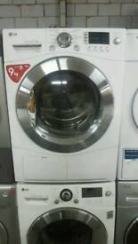 LG 9KG CONDENSER TUMBLE DRYER WITH 3 MONTHS GUARANTEE