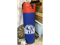 Punchbag Bryan 3' home gym type + gloves
