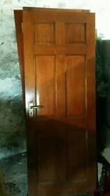 12 Mahogany doors