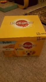 Pedigree puppy sachets 24 in jelly
