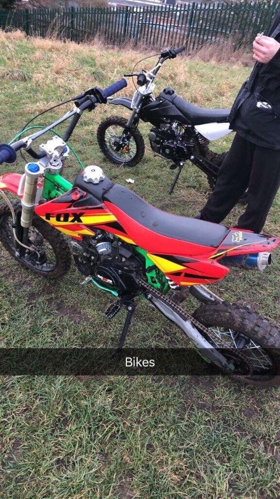 M2R racing pitbike 125cc