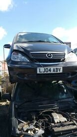 MERCEDES A170 CDI ELEGANCE AUTO 2004- FOR PARTS ONLY