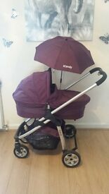 icandy pushcahir with carrycot