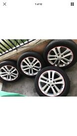 Nissan Juke Alloys with tyres